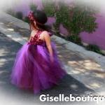 Flower girl dress Eggplant and Purp..